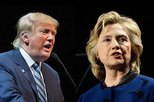 Donald Trump vs Hillary Clinton – Presidential Elections 2016